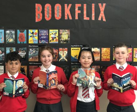 Copy of 12. Battle of the Books   Bookflix club